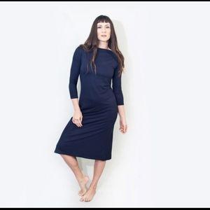 🍋host pick!🍋 NWOT Loft145 soft jersey midi dress